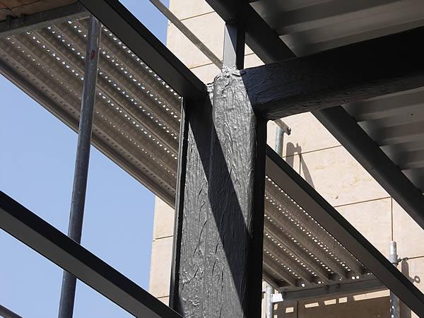 Stahlträger brandschutz durch schutzanstriche farbanstriche malermeister funke werder havel